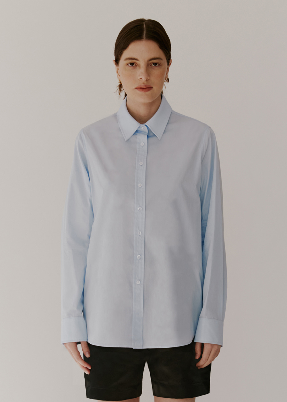 CLASSIC COTTON SHIRT - LIGHT BLUE